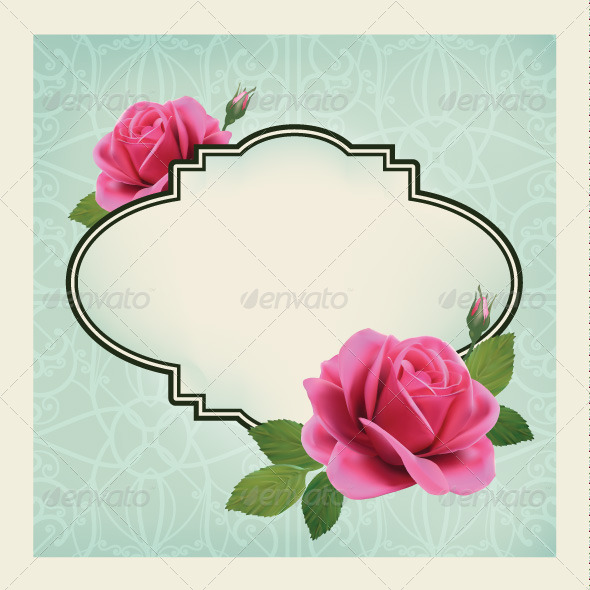 GraphicRiver Roses Card 7704886