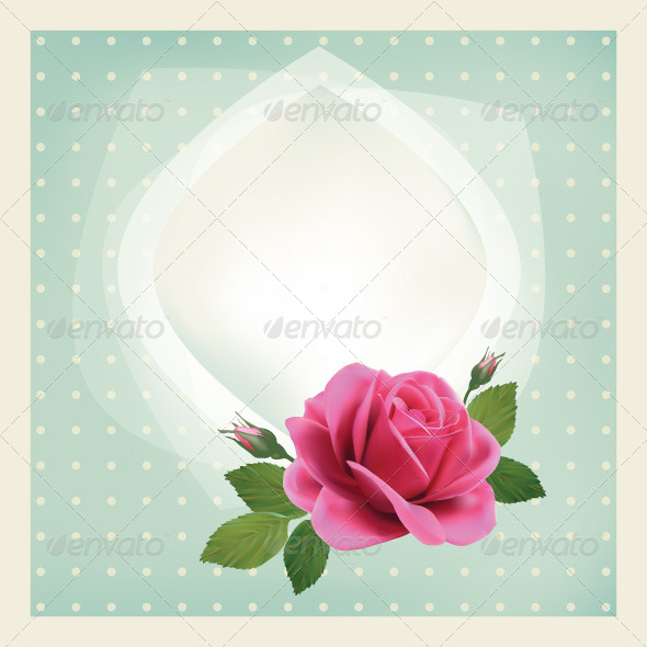 GraphicRiver Roses Card 7704893