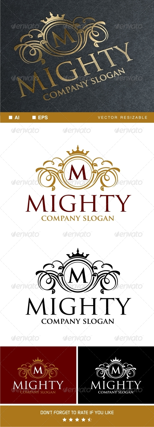 Mighty Logo Template