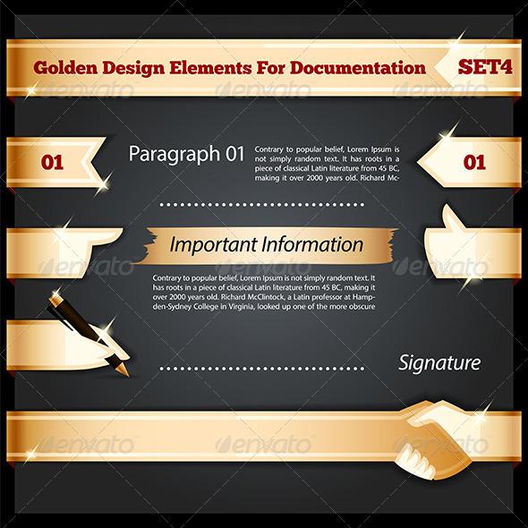 Golden Design Elements for Documentation Set