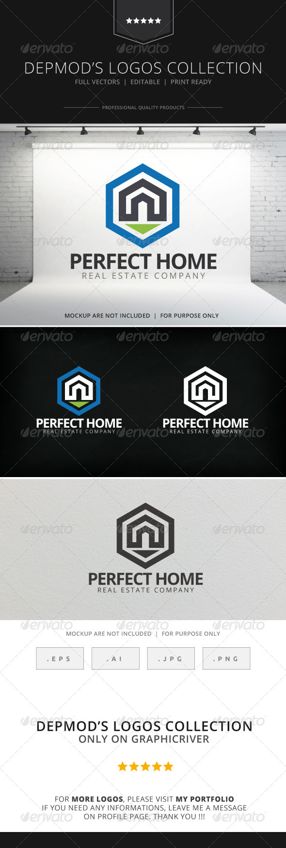GraphicRiver Perfect Home Logo 7705631