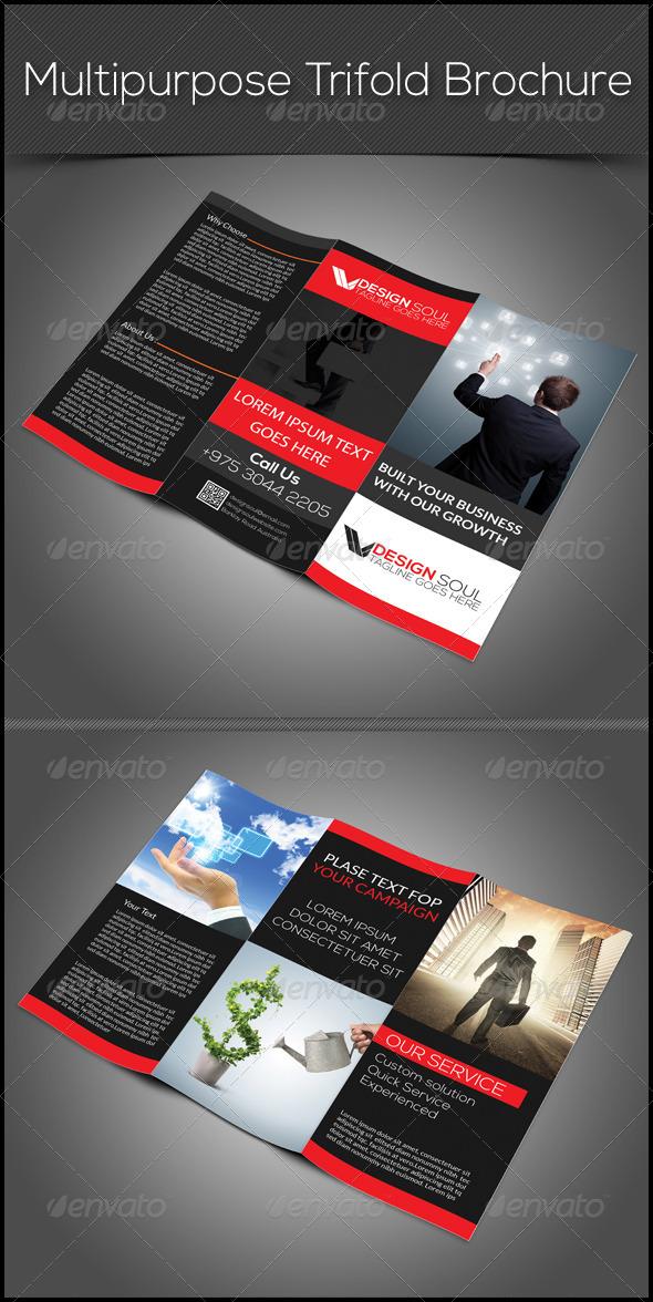 GraphicRiver Multipurpose Trifold Brochure 7705891