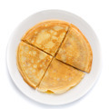 Pancakes stacked on a plate. - PhotoDune Item for Sale