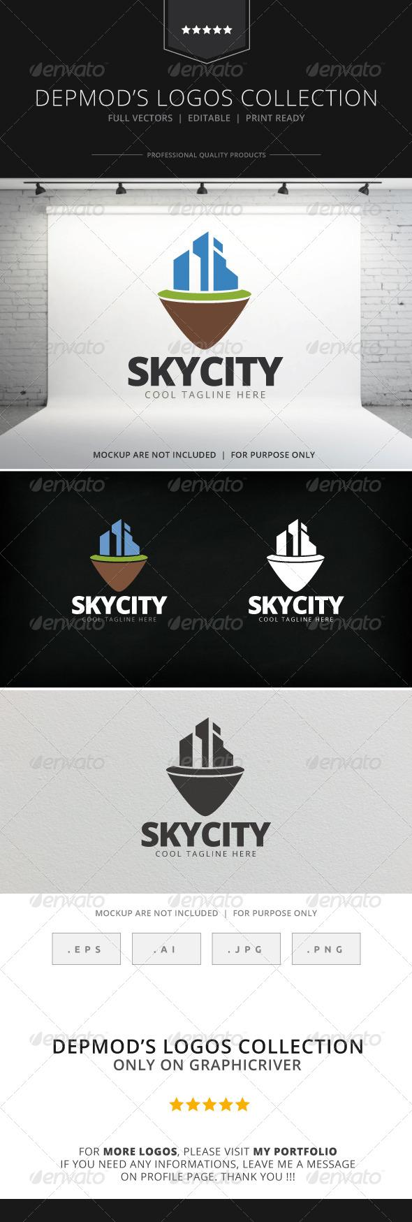 GraphicRiver Sky City V.02 Logo 7706814