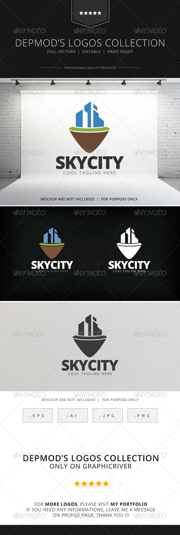 Sky City V.02 Logo