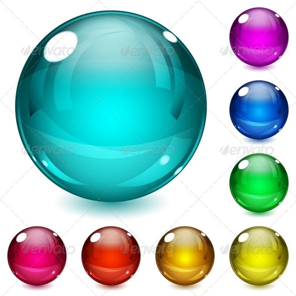 GraphicRiver Multicolored Spheres 7706898