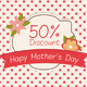 Mother's Day Discount Card - GraphicRiver Item for Sale