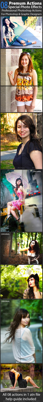 GraphicRiver Photo Effect V.06 7708448