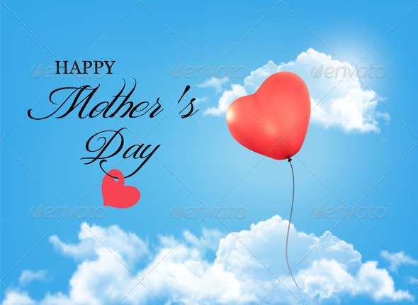 GraphicRiver Mother s Day Background 7708681