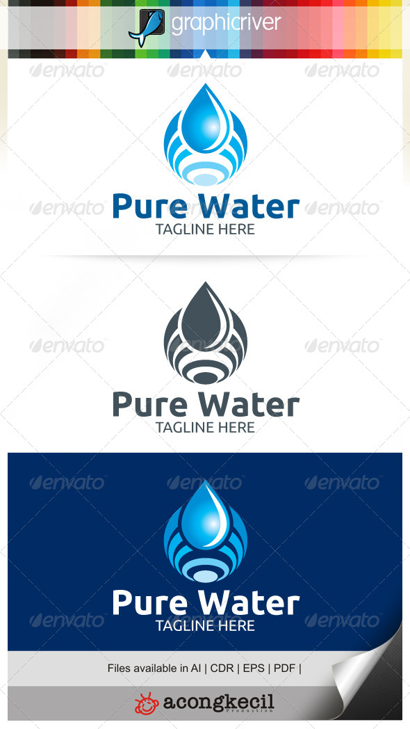 GraphicRiver Pure Water 7708974