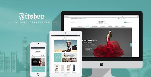 Fitshop WooCommerce WordPress Theme - WooCommerce eCommerce