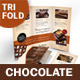 Chocolate Shop Trifold Brochure - GraphicRiver Item for Sale