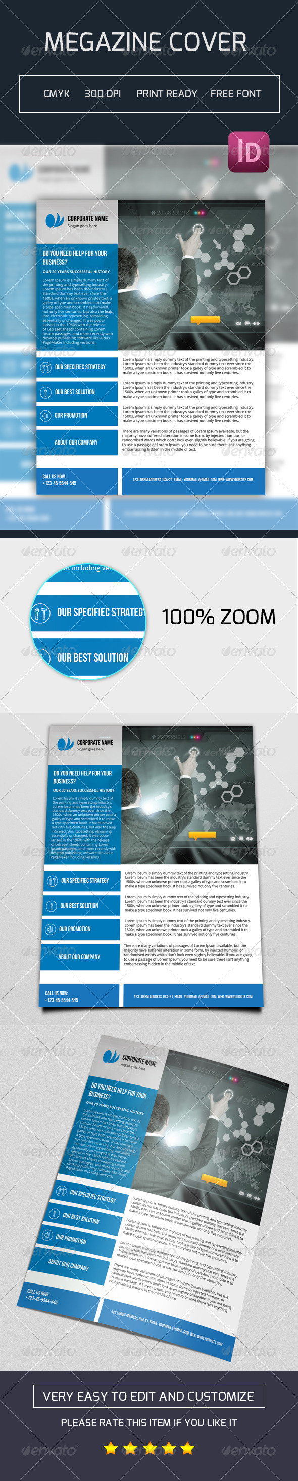 GraphicRiver Business Flyer Template 7684887