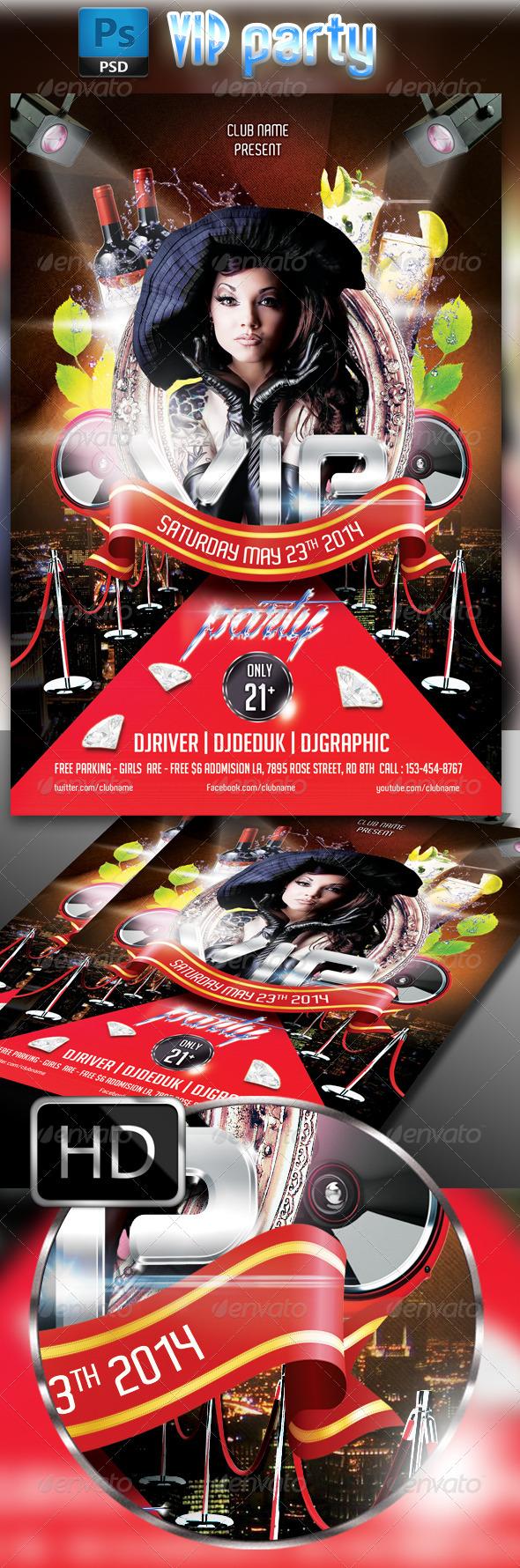 GraphicRiver VIP Party 7709866