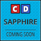 Sapphire - Responsive Coming Soon Page
