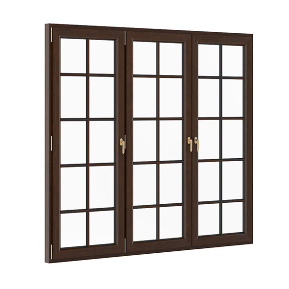 Wooden Window 2570mm x 2300mm - 3DOcean Item for Sale