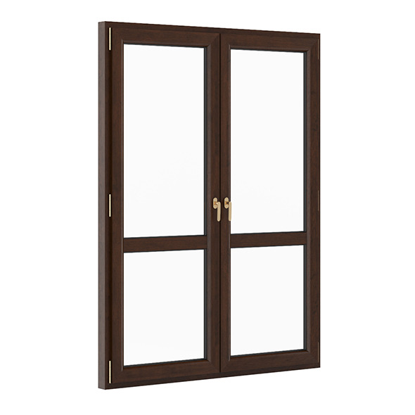 Wooden Window 1730mm x 2300mm - 3DOcean Item for Sale