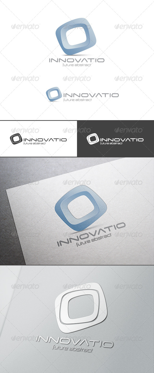Innvation Logo Abstract 3D