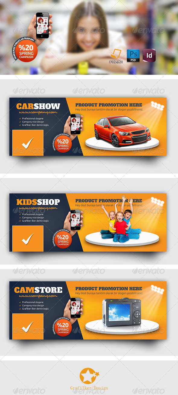 GraphicRiver Products Promotion Timeline Templates 7712141