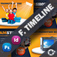 Products Promotion Timeline Templates - GraphicRiver Item for Sale