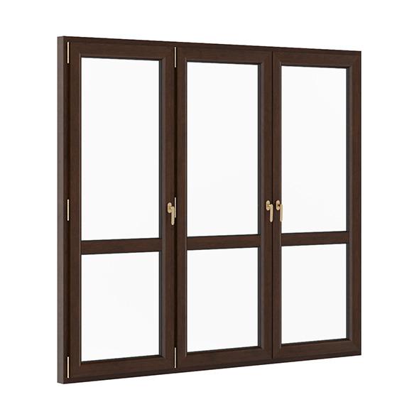 Wooden Window 2580mm x 2300mm - 3DOcean Item for Sale