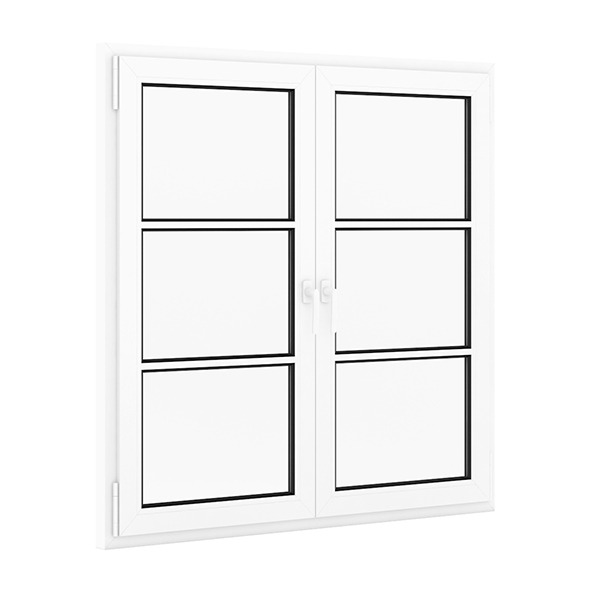 3DOcean Plastic Window 1522mm x 1520mm 7712232