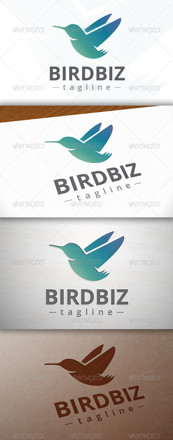 GraphicRiver Bird Logo 7712454