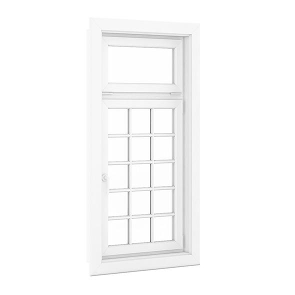 3DOcean Plastic Window 1080mm x 2020mm 7712466