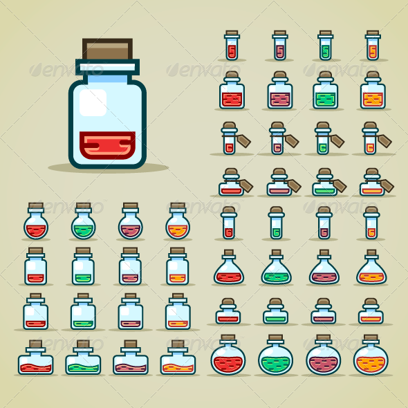 GraphicRiver Potion Big Collection 7712485