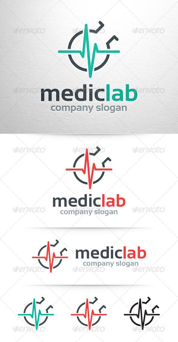GraphicRiver Medic Lab Logo Template 7712489