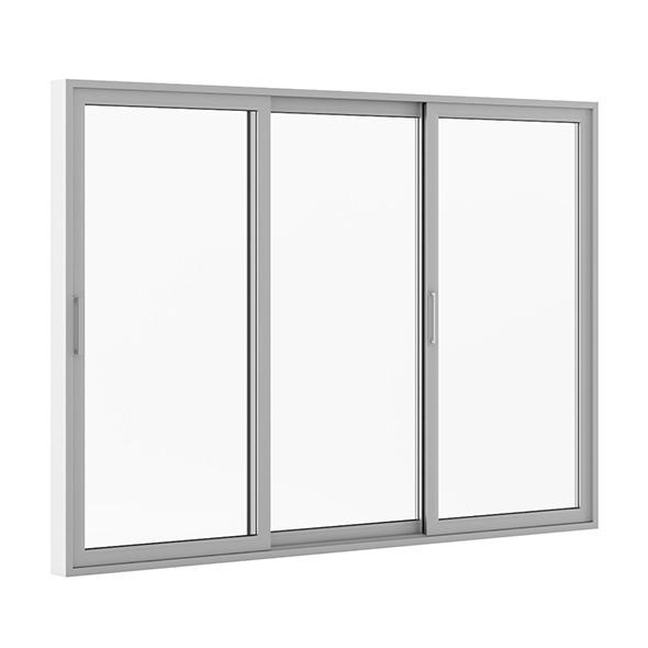 Sliding Metal Doors 3520mm x 2483mm - 3DOcean Item for Sale