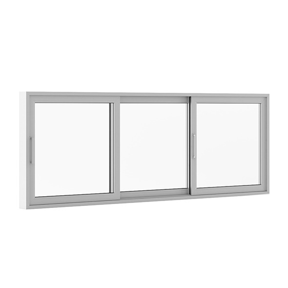 3DOcean Sliding Metal Window 3520mm x 1283mm 7712595