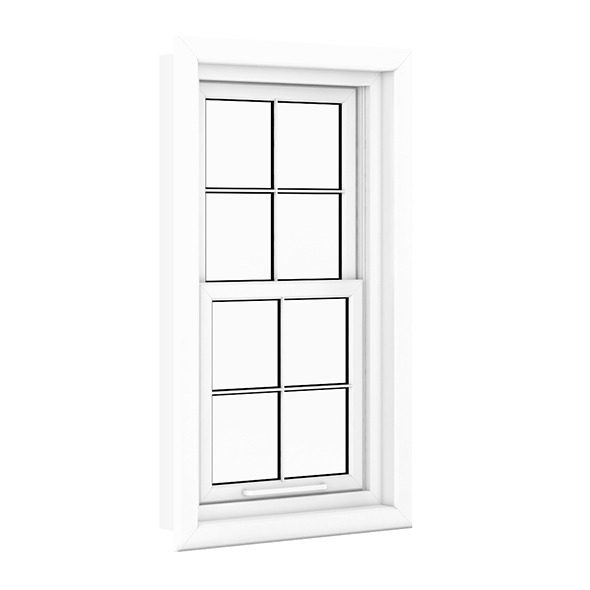 3DOcean Plastic Window 960mm x 1660mm 7712683