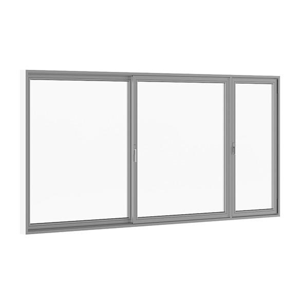 3DOcean Sliding Metal Doors 5120mm x 2500mm 7712714