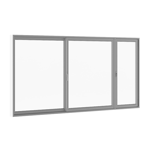Sliding Metal Doors 5120mm x 2500mm - 3DOcean Item for Sale