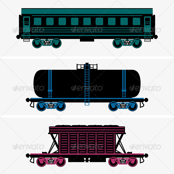 GraphicRiver Railroad Cars 7712797