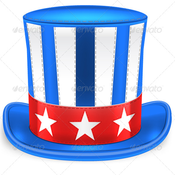 GraphicRiver Uncle Sam Hat 7713149