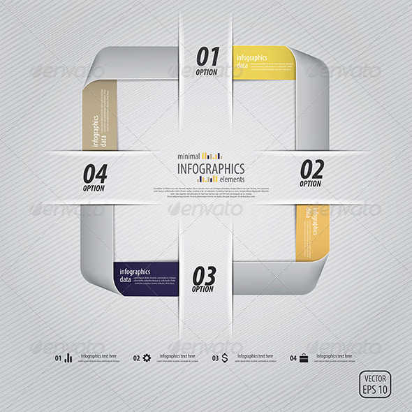 GraphicRiver This is the Minimal Infographics Design 7664406