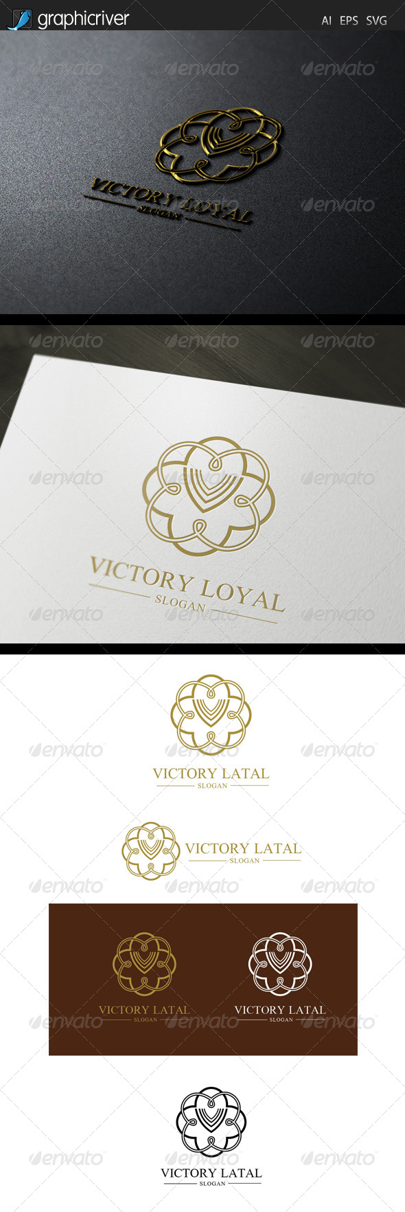GraphicRiver Victory Royal Logo 7713822