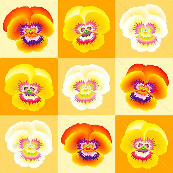 GraphicRiver Pansy Orange 7714297