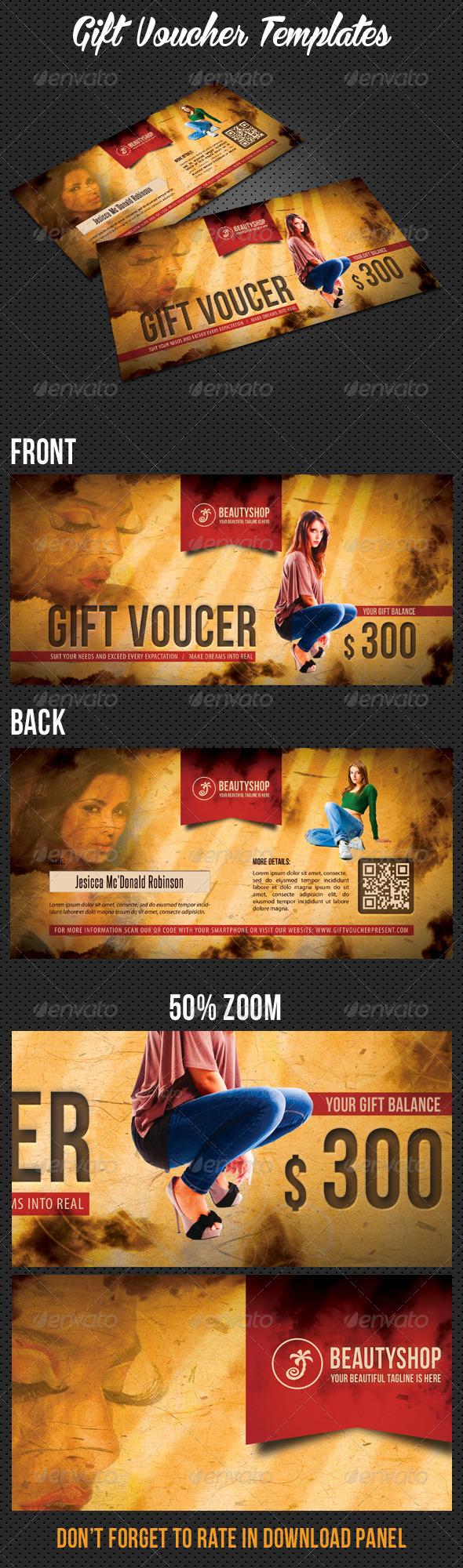 GraphicRiver Gift Voucher V02 7714560