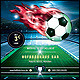 Soccer Mania (Football) Poster/Flyer