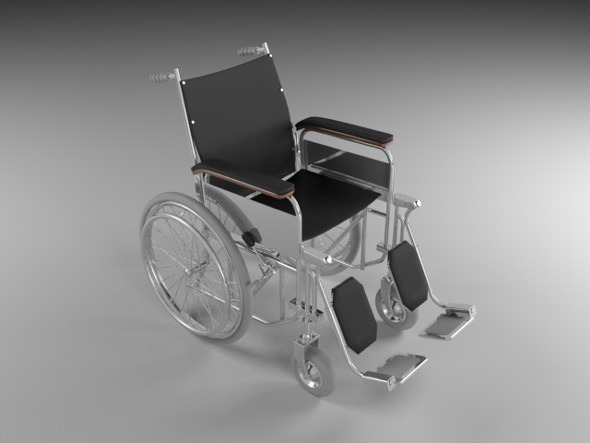 3DOcean Wheelchair 7715079