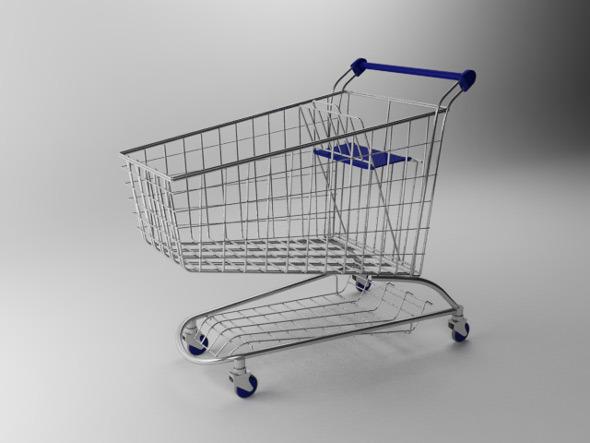 3DOcean Shopping Cart 7715088