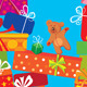 Seamless Pattern of Gift Boxes - GraphicRiver Item for Sale