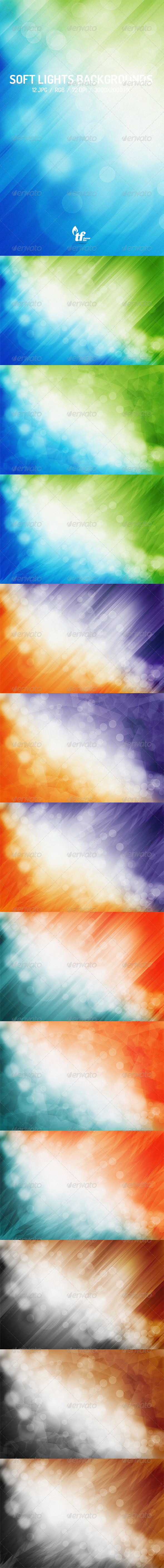 GraphicRiver Soft Lights Abstract Backgrounds 7715186