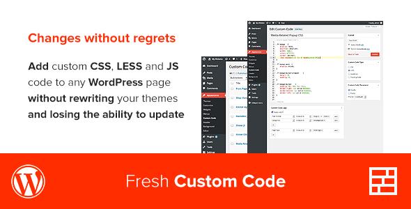 CodeCanyon Fresh Custom Code 7715235
