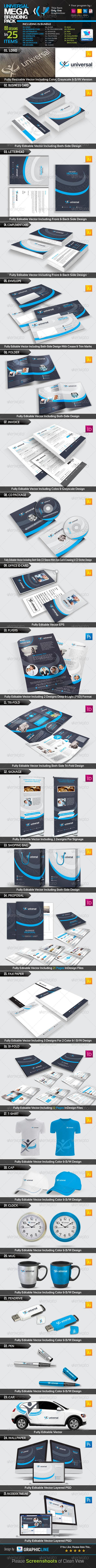 GraphicRiver Universal Mega Branding Pack 7715773