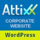 Attixx - Responsive Corporate WordPress Theme - ThemeForest Item for Sale
