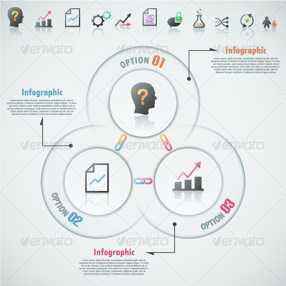 GraphicRiver Modern Infographic Options Banner &8 Icons 7715873